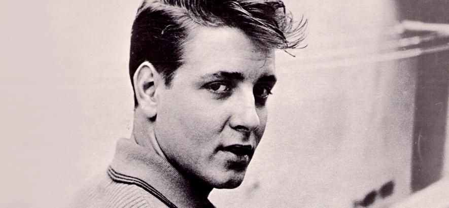 Foto des US-Musikers Eddie Cochran, der 1960 durch einen Autounfall ums Leben gekommen ist