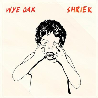 "Cover des Albums ""Shriek"" von Wye Oak (City Slang)"