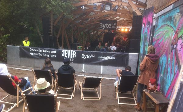 Jever Live Dockville Talks and Acoustic Sessions