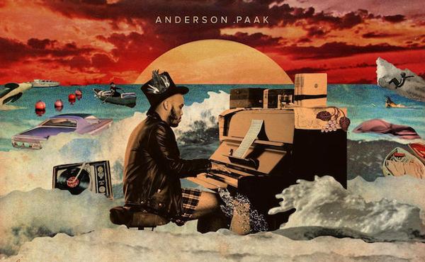 Cover des Albums Malibu von Anderson .Paak