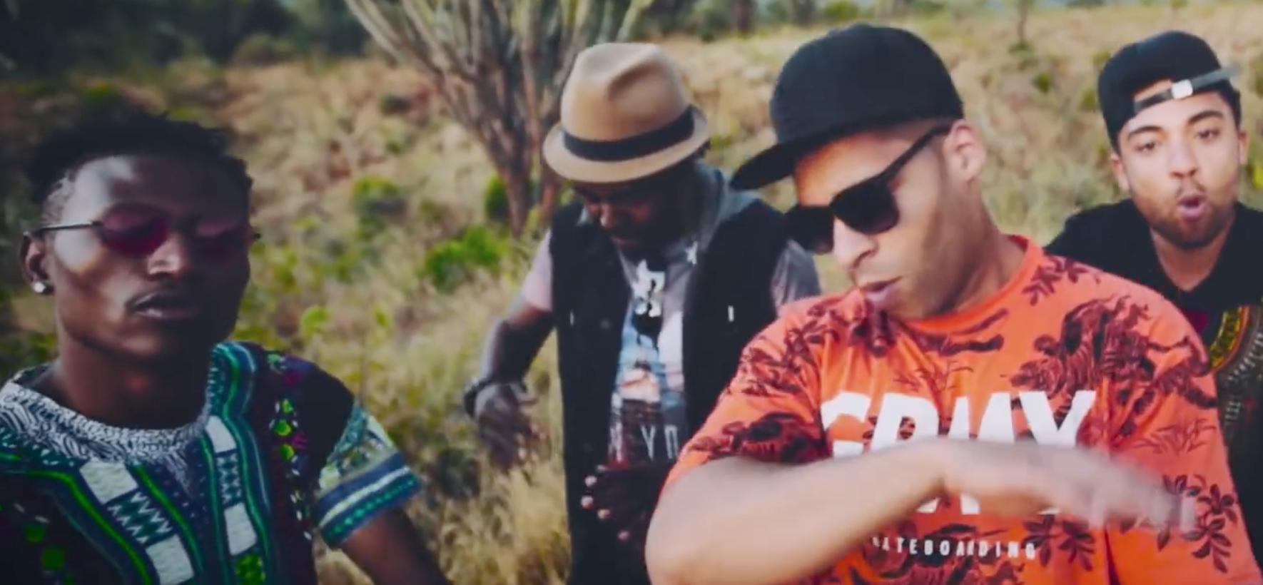 Screenshot aus dem Video zu Oyoyo von Megaloh
