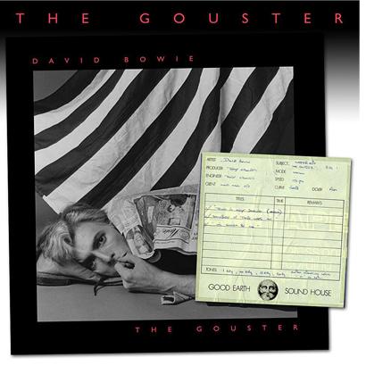 Cover des Albums The Gouster von David Bowie