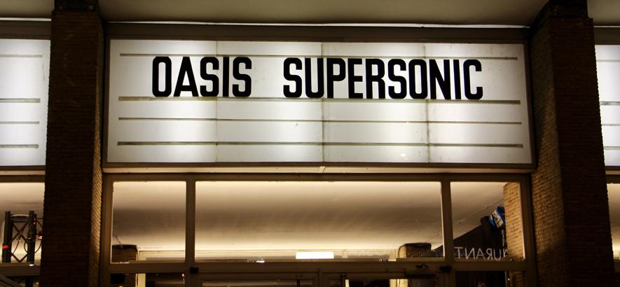 """Foto von der Filmpremiere von """"Supersonic"""" mit Liam Gallagher und Bonehead"""