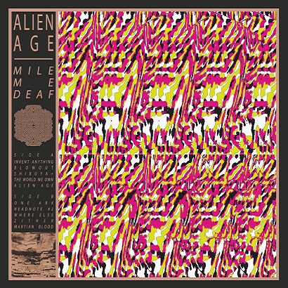 Cover des Albums Alien Age von Mile Me Deaf