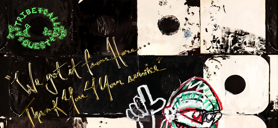 Cover des Albums We Got It From Here… Thank You 4 Your Service von A Tribe Called Quest