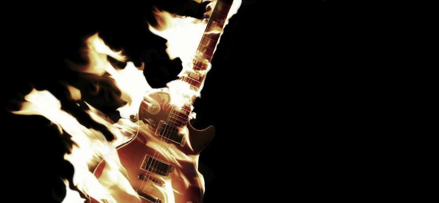 Von brennenden Gitarren und explodierenden Drumsets