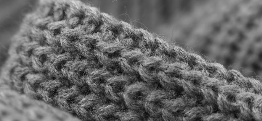 Foto eines Wollpullovers