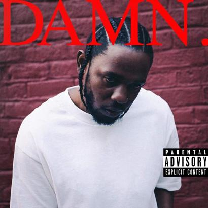 Cover des Albums DAMN. von Kendrick Lamar