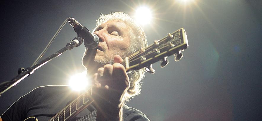 Roger Waters während eines Auftritts im Scotiabank Place in Ottawa (The Wall Live). (Credit: Brennan Schnell/Eastscene.com)