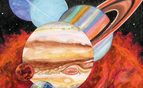 "Sufjan Stevens, Bryce Dessner, Nico Muhly & James McAlister – ""Planetarium"" (Rezension)"