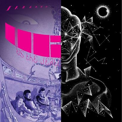 Cover der Alben Quazarz vs. The Jealous Machines und Quazarz: Born On A Gangster Star von Shabazz Palaces