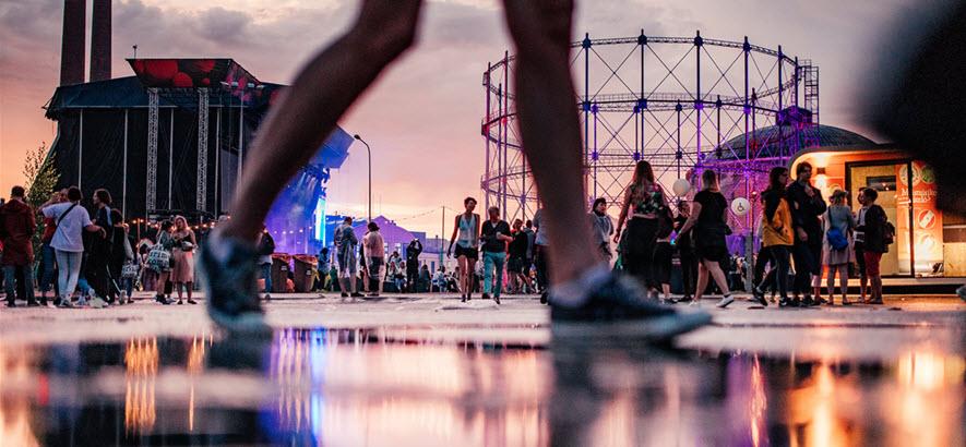 Foto vom Flow Festival in Helsinki