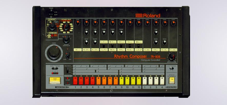 Der Roland TR-808 ist zurück (Foto: Wikimedia,  Cc-by-sa-2.0)