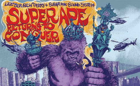 "Lee ""Scratch"" Perry & Subatomic Sound System – ""Super Ape Returns To Conquer"" (Rezension)"