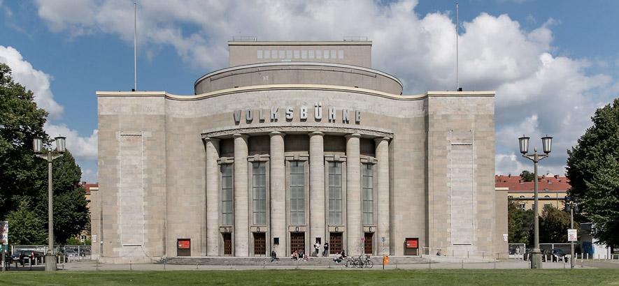 Foto von der Volksbühne Berlin