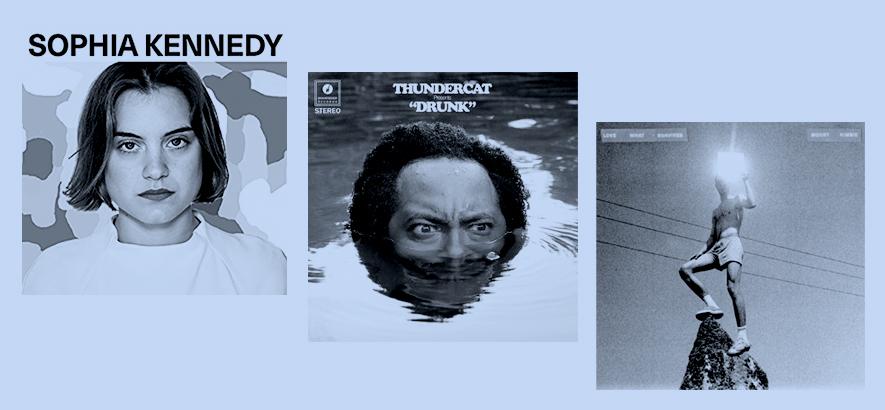 Cover verschiedener Alben aus dem Jahr 2017