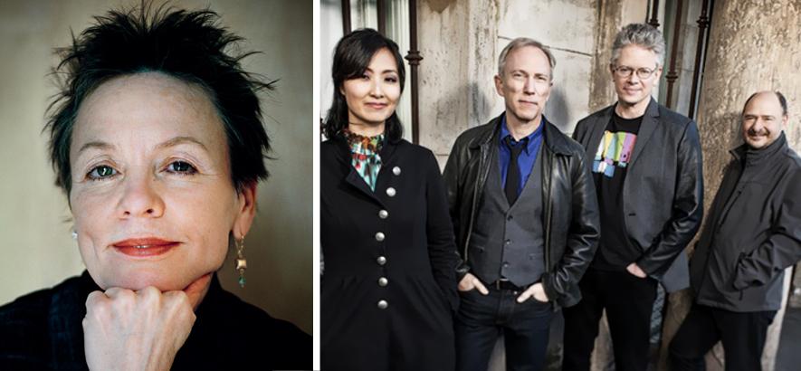 Laurie Anderson und das Kronos Quartet