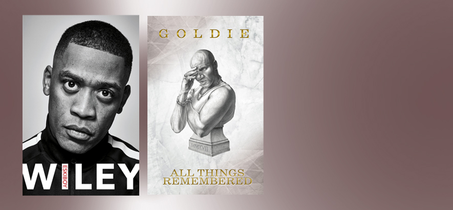 Wiley und Goldie mit Eskiboy und All Things Remembered