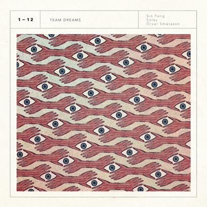 "Cover des Albums ""Team Dreams"" von Sóley, Sin Fang & Örvar Smárason (Morr Music)"