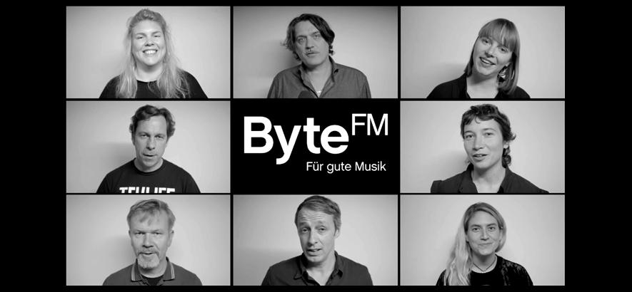 ByteFM hat einen Film gedreht. Das hier ist ein Ausschnitt-Bild.
