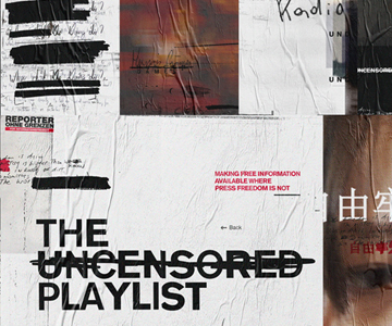"Reporter ohne Grenzen: ""The Uncensored Playlist"""
