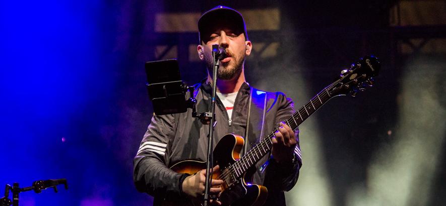 """Der Musiker Kortez auf dem """"Enea Spring Break Showcase Festival & Conference"""" 2018 im polnischen Poznań"""