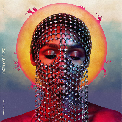"Cover des Albums ""Dirty Computer"" von Janelle Monáe (Bad Boy Entertainment)"