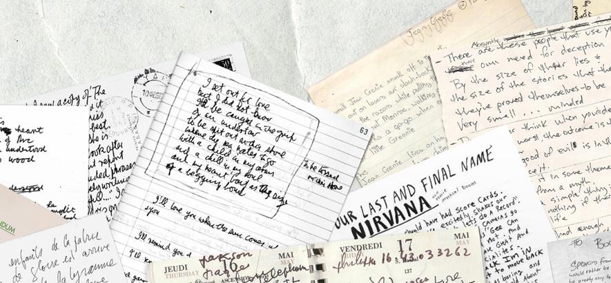 """Schreiben wie Cobain oder Bowie mit """"Songwriters Fonts"""""""