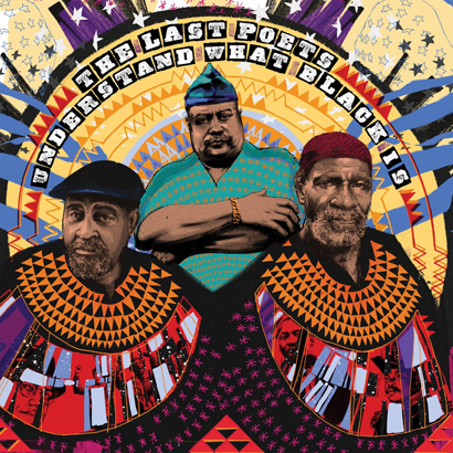 "Cover des Albums ""Understand What Black Is"" von The Last Poets (Studio Rockers)"