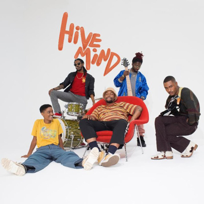 "Cover des Albums ""Hive Mind"" von The Internet (Columbia)"