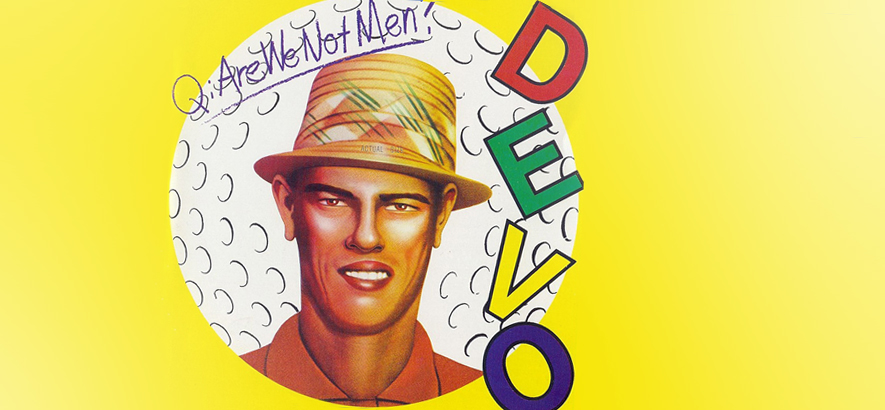 "Devo-Debüt ""Q: Are We Not Men? A: We Are Devo!"" wird 40 Jahre alt"