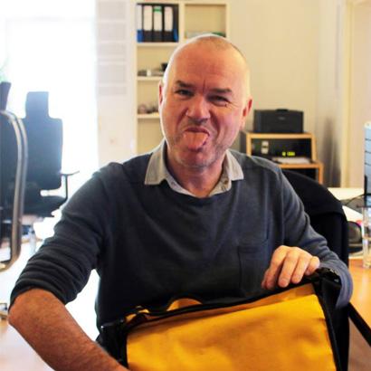 Musikjournalist Klaus Walter in unserer Hamburger Redaktion