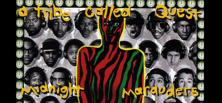 "Cover von ""Midnight Marauders"" von A Tribe Called Quest"