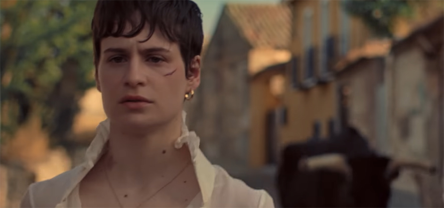 "Szene aus Christine And The Queens Musikvideo ""The Walker"""