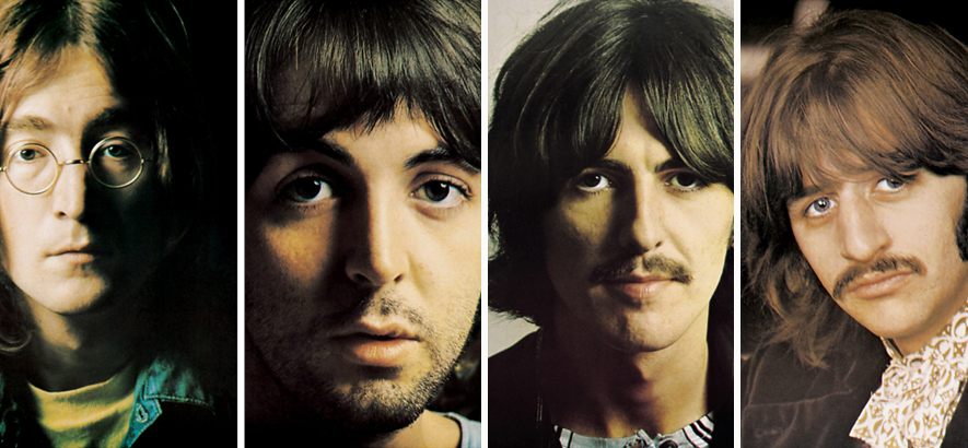 The Beatles: John Lennon, Paul McCartney, George Harrison, Ringo Starr