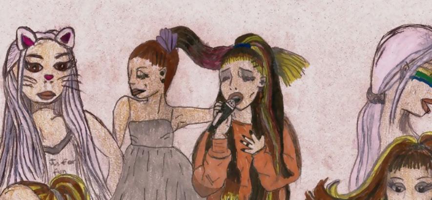 """Artwork von Nicholas Krgovich – """"thank u, next"""""""