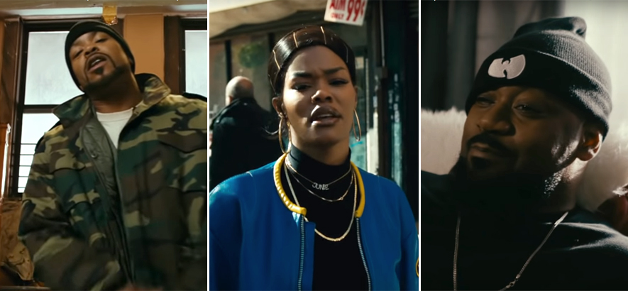 "Teyana Taylor feat. Ghostface Killah, Method Man & Raekwon – ""Gonna Love Me"""