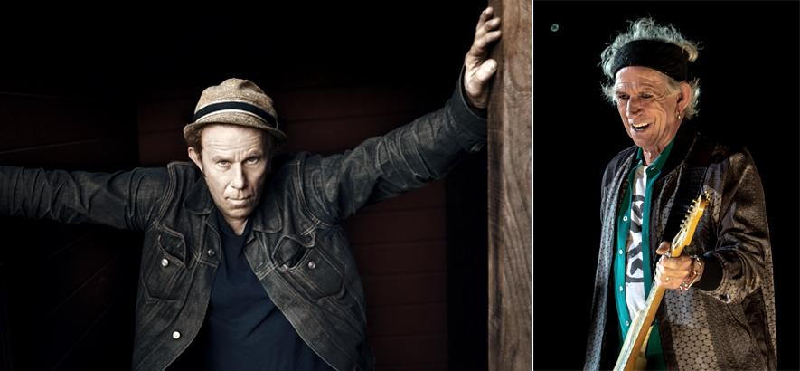 Foto von Tom Waits & Keith Richards