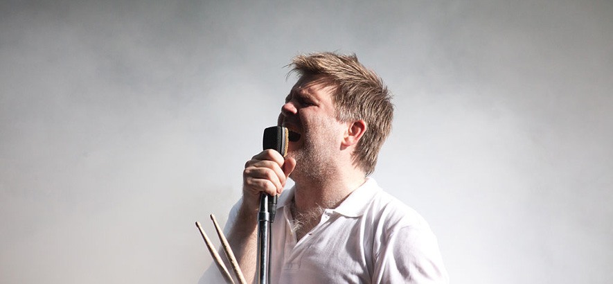 Foto von James Murphy / LCD Soundsystem
