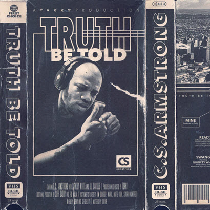 "Cover des Albums ""Truth Be Told"" von C.S. Armstrong (Jagjaguwar)"