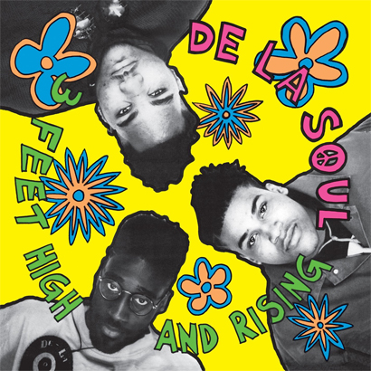"Cover von De La Soul – ""3 Feet High And Rising"""