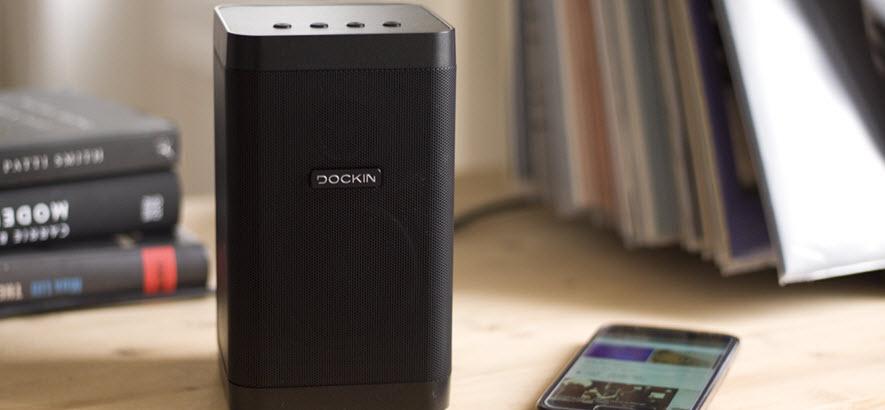 Foto von Dockin-Bluetooth-Boxen