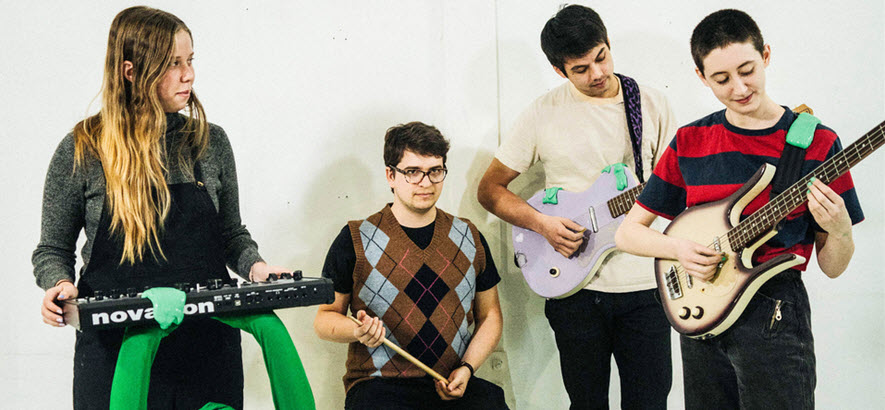 Bild von der Band Frankie Cosmos (Foto: Loroto Productions)