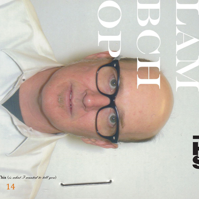 "Cover des Albums ""This (Is What I Wanted To Tell You)"" von Lambchop"