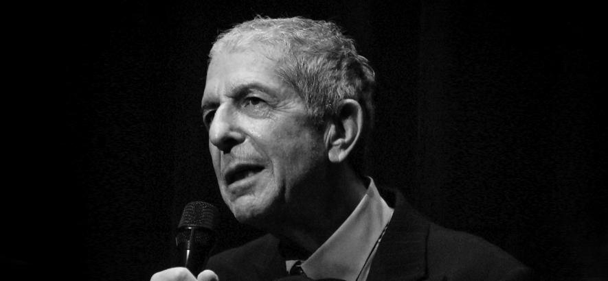 Foto von Leonard Cohen
