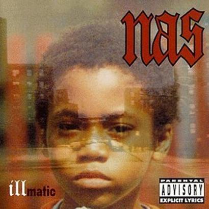 "Cover des Albums ""Illmatic"" von Nas"