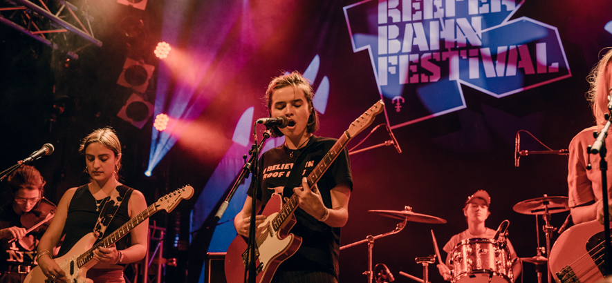 Foto von Goat Girl beim Reeperbahn Festival 2018