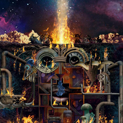 "Cover des Albums ""Flamagra"" von Flying Lotus"