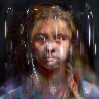 "Cover des Albums ""Proto"" von Holly Herndon"