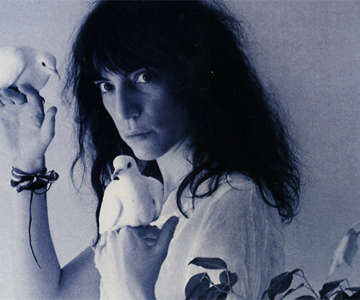 "Patti Smith Group – ""Dancing Barefoot"""